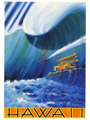 Poster Surf JOHN SEVERSON 'Hawaii'