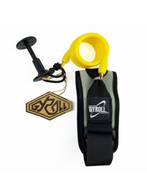 Leash biceps Bodyboard GYROLL Bicep - Jaune