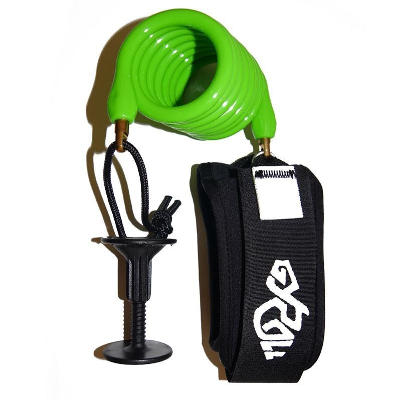 Leash biceps Bodyboard GYROLL Variables - Citron Vert