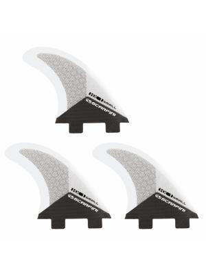 Set de 3 dérives SCARFINI HX1 Carbon (taille S) (FCS)