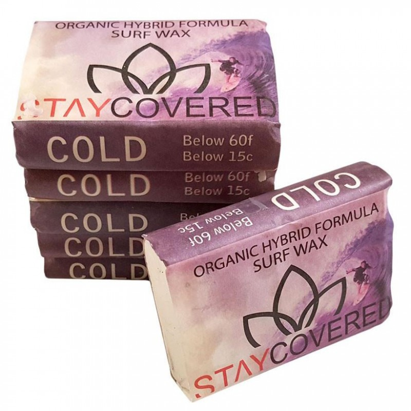 Surf Wax STAY COVERED Organic Hybrid - COLD