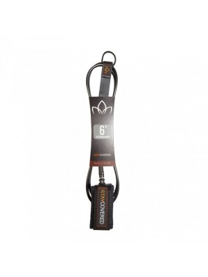Leash genou Longboard / Sup STAY COVERED Standard Calf (7mm) - Black