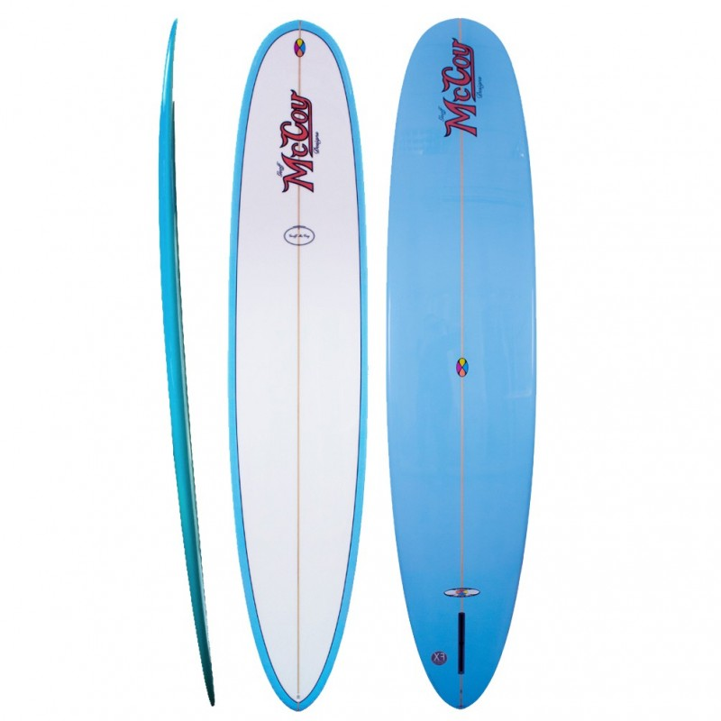 Longboard McCOY Surfboards All Round Mal blue (PU)