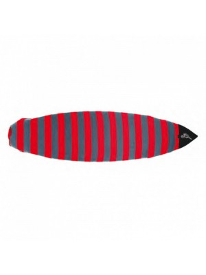 Housse chaussette surf FAMOUS Woodlake Boardsock Fish/Hybrid - Gris/Rouge