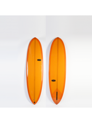 Planche de surf single ALMOND Cash-Yew II 7' (PU)