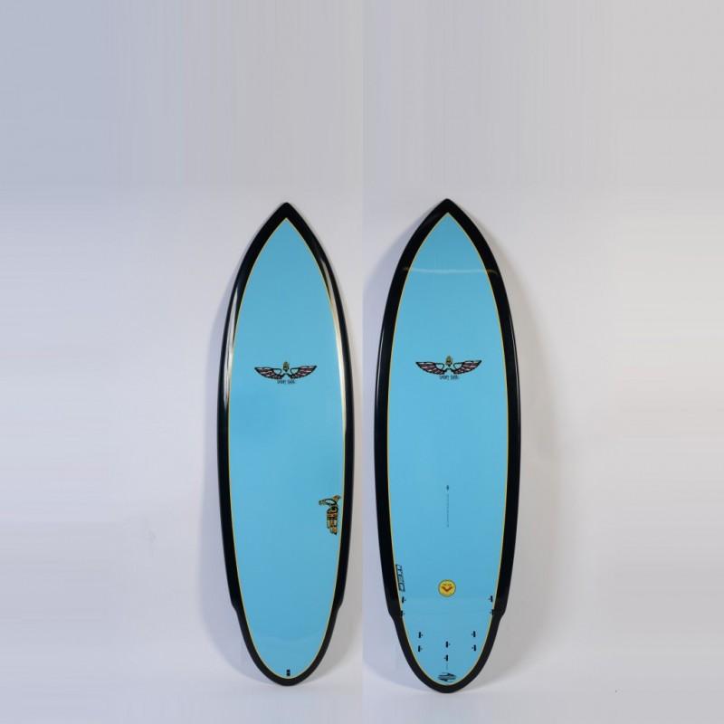 Planche de Surf BOARDWORKS Von Sol Shadow blue/black (epoxy)