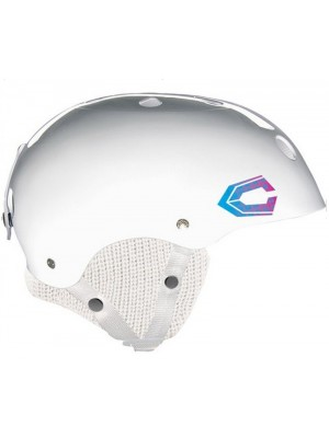 Casque Snowboard CAPIX x Keep a Breast Pro model Chanelle Sladics