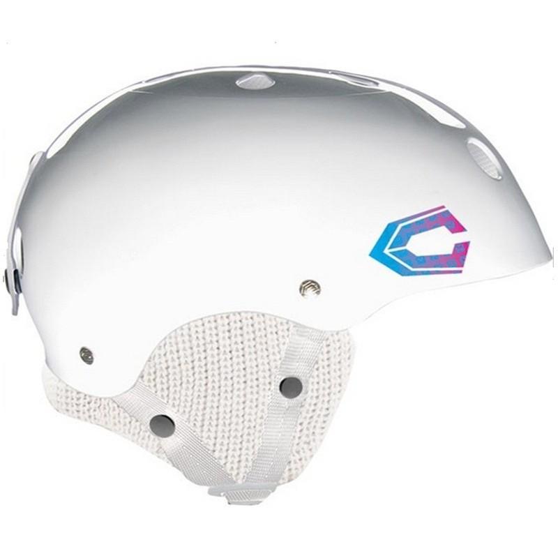 Casque Snowboard CAPIX pro model Chanelle Sladics co-branding Keep a Breast