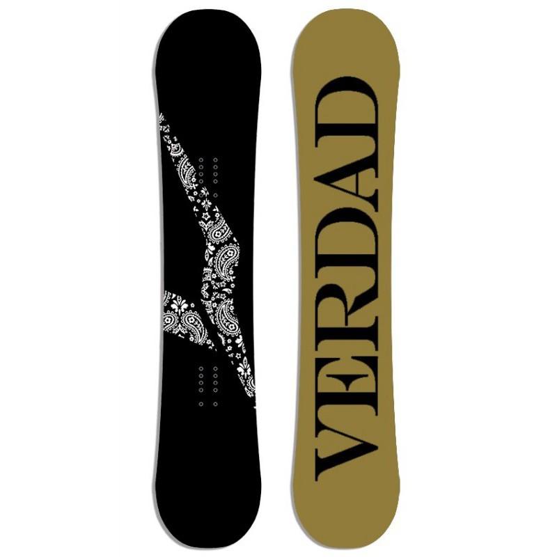 Planche de Snowboard VERDAD Bandana Black 2016