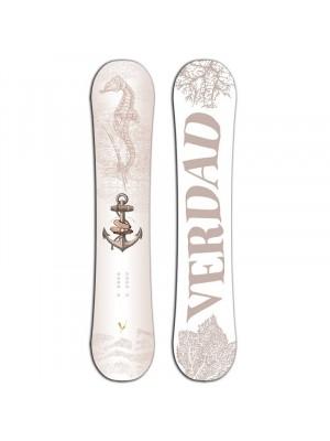 Planche de Snowboard VERDAD White Pearl 2016