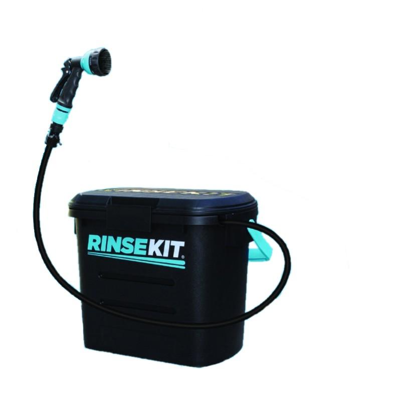 Kit de rinçage RINSEKIT douche portable et autonome (black edition)