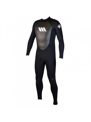 Combinaison de surf WEST - Enforcer 4/3mm Back zip - Black