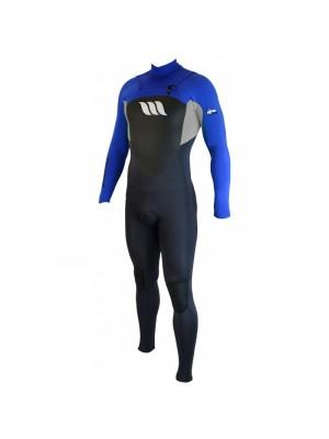 Combinaison de surf WEST Nitro front zip - Bleu Roi - 3/2mm