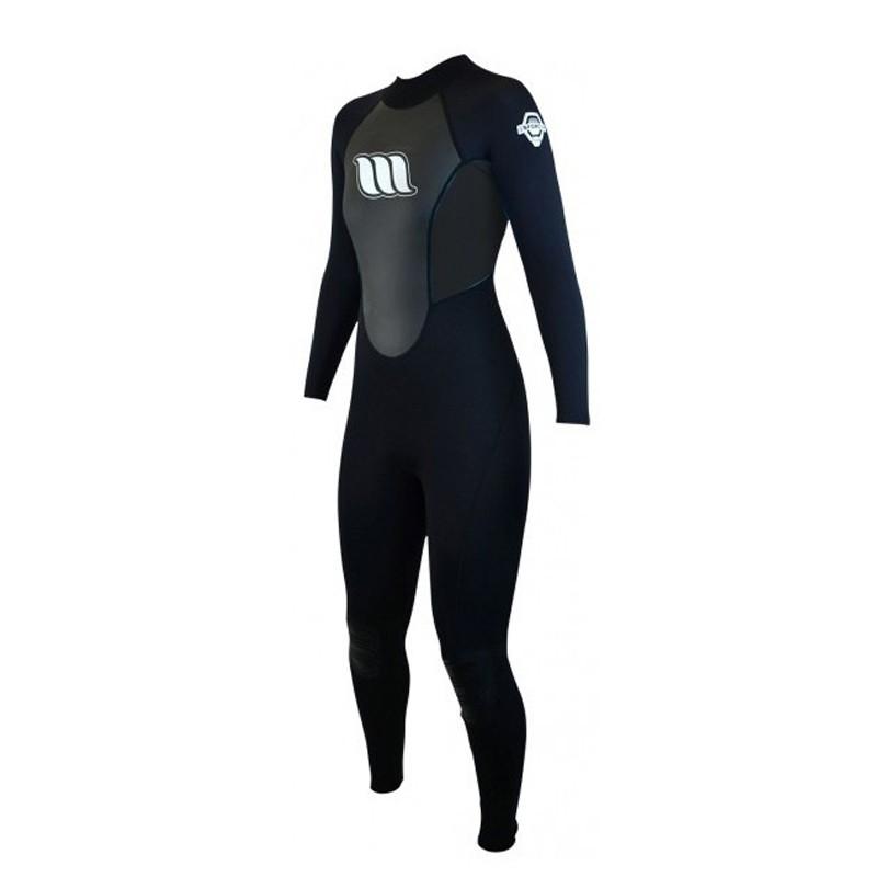 Combinaison de surf femme WEST Enforcer Lady 4/3mm back zip