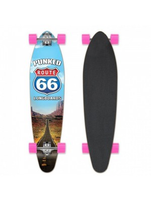 Longskate Cruiser YOCAHER Punked Route-66 The Run Kicktail 38' (96 cm)