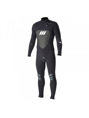 Combinaison de Surf WEST Lotus 3/2 front zip - Black