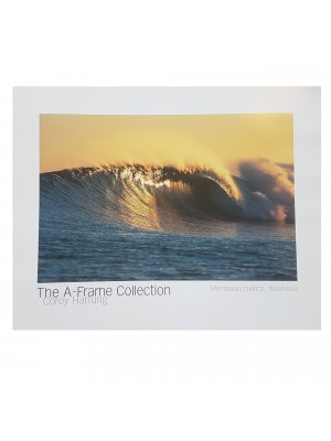 "Poster Photo Surf A-FRAME COLLECTION Corey Hartung ""Mentawais Islands, Indonesia"""