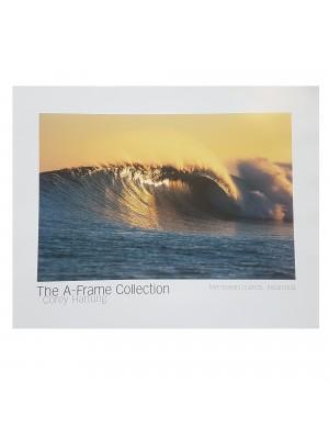 "Poster Photo Surf A-FRAME COLLECTION Corey Hartung ""Mentawais Islands, Indonesia"""