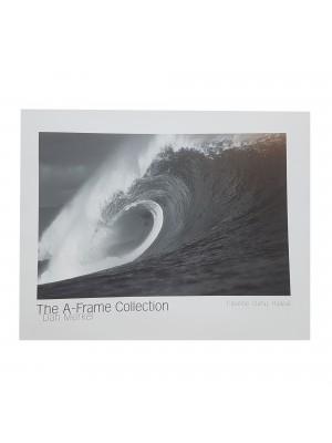 "Poster Photo Surf A-FRAME COLLECTION Dan Merkel ""Pipeline. Oahu, Hawaii"""