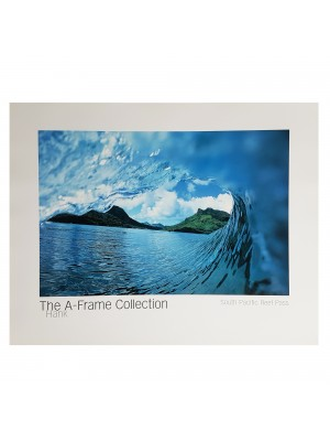 "Poster Photo Surf A-FRAME COLLECTION Hank ""South Pacific Reef Pass"""