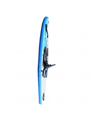 Pack complet SUP-Kayak gonflable CBC California Board Company 132 Current 11' avec pagaie, dérive et leash