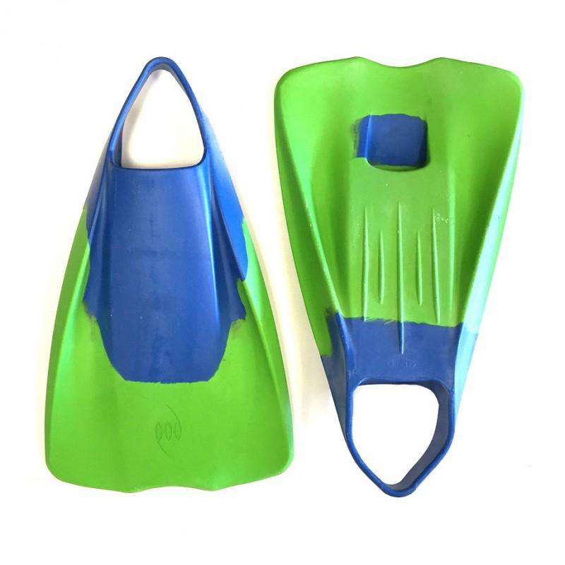 Palmes Bodyboard POD Model PF1 - Bleu/Citron Vert