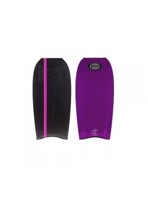 BSD Bodyboard - Classic - Black / Purple - 43