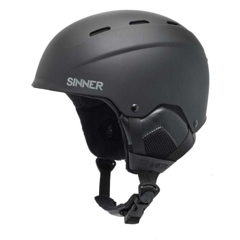 Sinner - Casque ski / snowboard TYPHOON - Black Matte