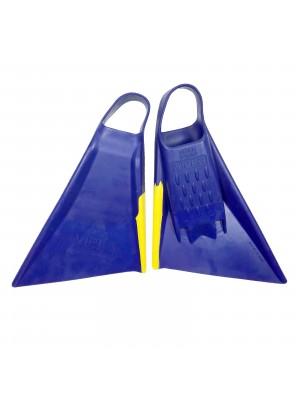 Palmes de bodyboard MS VIPER Delta 2.0 - Blue / Yellow