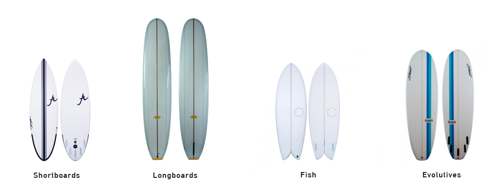 type-of-surfboards