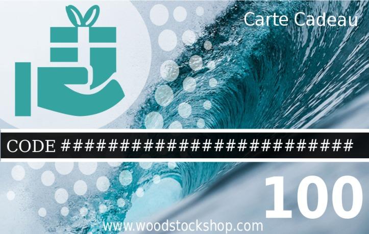 Chèque Cadeau WoodstockShop Océan