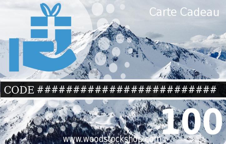 Chèque Cadeau WoodstockShop Montagne